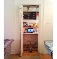 closet into office. Closets As Home Offices: Closet Into Office C