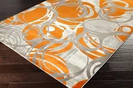 orange and grey area rug home design ideas orange and gray area rug alfred abstract grey orange pink area rug