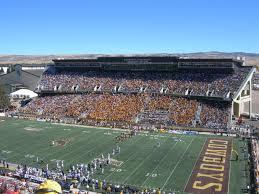 War Memorial Stadium Wyoming Seating Chart War Memorial Stadium Section Aa Rateyourseats Com