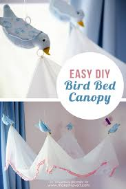 Diy Bed Canopy Easy Diy Bird Canopyfor Above A Bed Make It And Love It
