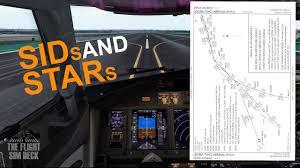 The Flight Sim Deck Understanding Sids Stars Fyc Fselite