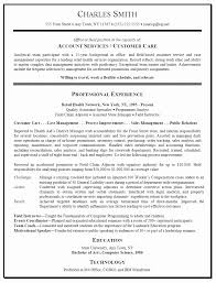 Copies Of Resumes For Customer Service Coles Thecolossus Co Free