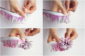 Making Of Flower With Paper How To Make Your Own Paper Flowers Rock N Roll Bride