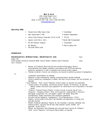 Resume Review Amazing Nital Resume QA Batch Record Review 40