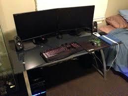 small gaming desk um size of shaped gaming desk desk executive office furniture computer workstation