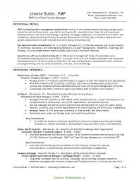 It Project Manager Resume Sample Newest Project Manager Resume Sample Pmp Pmp Sample Resumes 54