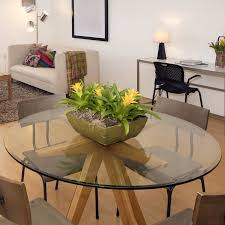 fab glasirror 54 round beveled tempered glass table top for attractive household round beveled glass table top remodel
