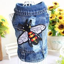 2019 <b>Spring</b> Summer <b>New Pet Clothes</b> Embroidered Cowboy Vest ...