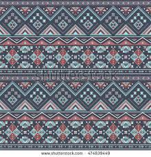 Boho Patterns Amazing Ethnic Boho Seamless Patterns Vintage Ornament Stock Vector Royalty