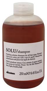 <b>Освежающий шампунь</b> для волос Solu Shampoo 250мл Davines ...