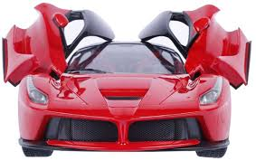 zest 4 toyz remote controlled ferrari like model sports car with openable doors at low s in india amazon in