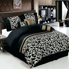 black and gold bed set new black and gold king comforter set with additional size duvet