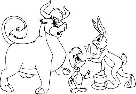 Small Picture Woody Woodpecker Bugs Bunny Bull Coloring Page Wecoloringpage
