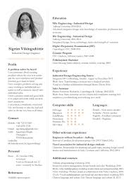 Cv Personal Profile And Project Examples Cv Profile