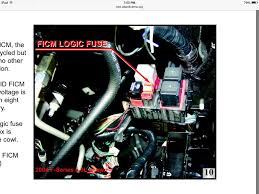 2003 6 0 no power to ficm relay pin 5 ford powerstroke diesel Ficm Wiring Harness your looking for ficm power correct ficm wiring harness for 2001 duramax