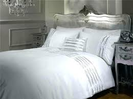 decoration silver bedding sets ideas set white bed queen