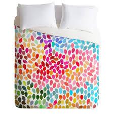 garima dhawan rain  duvet cover  deny designs home accessories