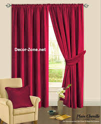 bedroom curtain designs. fabric curtains - bedroom red designs curtain