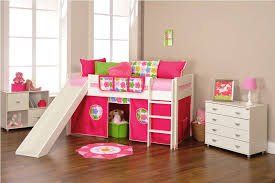 bunk beds with slides for girls. Plain Girls Image Of Nice Girls Loft Bed With Slide Intended Bunk Beds Slides For V