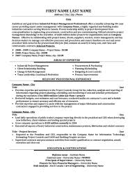 Project Management Consultant Resume