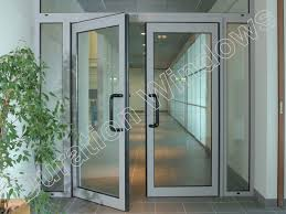 aluminium commercial entrance doors