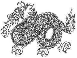 Small Picture 27 best Chinese New Year Coloring images on Pinterest Coloring