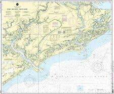 Noaa Chart 11416 Noaa Chart St Helena Sound To Savannah River 27th Edition
