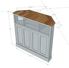 corner tv shelf plans diy corner tv cabinet plans stylish tall console cabinets best stands ideas