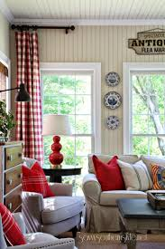 Plaid Curtains For Living Room 17 Best Ideas About Cottage Curtains On Pinterest Curtain