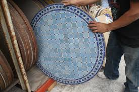 furniture square mosaic table top designs awesome decorative mosaic tile round table moroccan furniture los angeles
