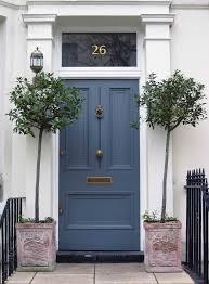 Slate Navy Blue Front Door