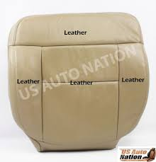 2005 2006 2007 2008 ford f 150 driver bottom replacement leather seat cover tan