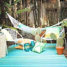 full size of cancun turquoise moss green hammock lifestyle outdoor rugs made from recycled plastic
