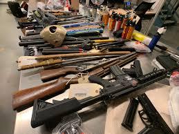Police Cite Safety Concerns After Hundreds Of Guns Seized