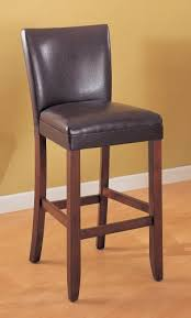 Reviews of Set of 2 Telegraph 29 <b>brown Faux Leather Bar Stool</b> ...