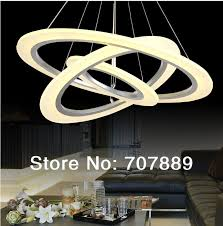 new led chandelier modern living room restaurant acrylic decorative