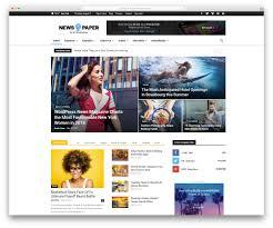 The Changing Times Newspaper Template Top 50 News Magazine Wordpress Themes 2019 Colorlib