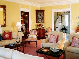 Small Country Living Room Country Living Room Color Schemes With Classic Furniture Design