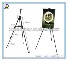 Painting Display Stands Telescopic Field Studio Painting Easel Tripod Display Stand 66