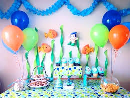 background decoration for birthday party at home decorati s