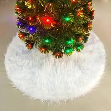 White Plush <b>Christmas</b> Tree Skirts Fur Carpet Decoration Sale, Price ...