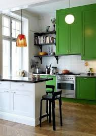 Exellent Green Painted Kitchen Cabinets Remodelaholic With Decorating