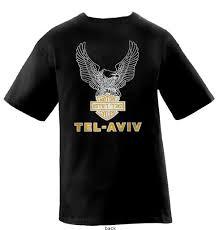 israel t shirt tel aviv harley