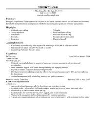 call center sales resumes unforgettable experienced telemarketer resume examples to stand out
