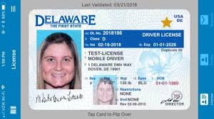 Mobile Screening Key Pilot Driver's Security To Delaware's License