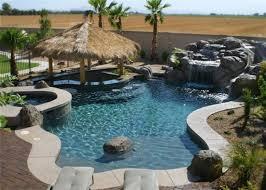 natural looking in ground pools. Arizona Swimming Pools Natural Looking In Ground