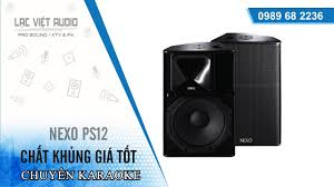 Video đóng lô hàng giá rẻ loa karaoke hay nhất hiện nay Nexo PS12 | Lạc  Việt Audio
