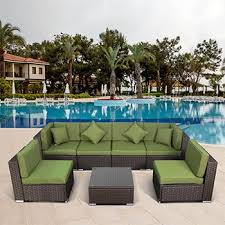 <b>Комплект мебели Афина 7</b> элементов YR 822 BG Brown/Green ...