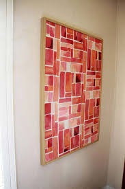 cool diy room decor ideas in red semi diy colorful canvas art creative