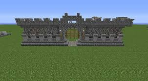 minecraft fence designs. Minecraft Stone Fence Castle Wall Design Project Designs